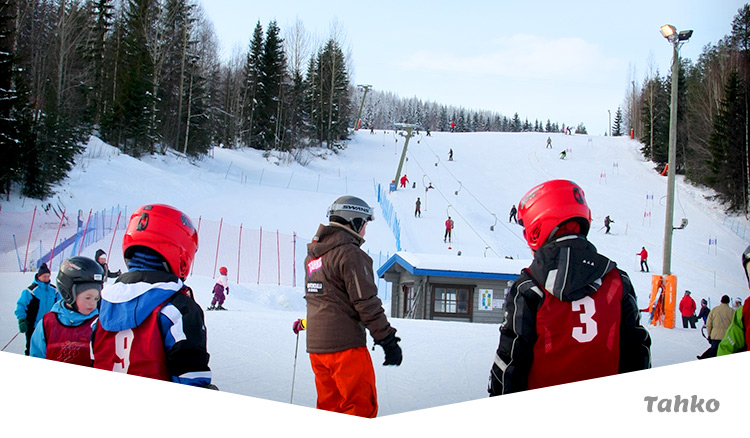 Matkailijan Talviopas hiihtokeskus Tahko Nilsiä