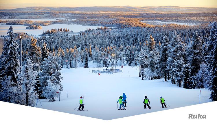 Matkailijan Talviopas hiihtokeskus Ruka Kuusamo